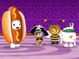 Team Umizoomi S2 Ep207 The Ghost Family Costume Party