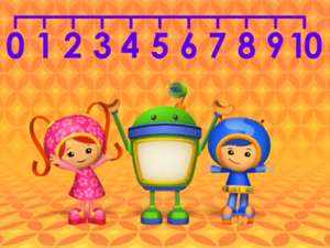 Count It Up Sing About Number Lines With Team Umizoomi