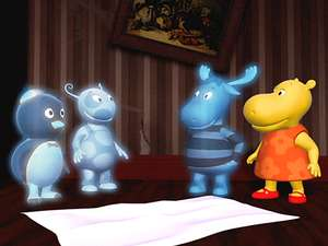 Hide And Go Boo The Backyardigans S1 Ep106