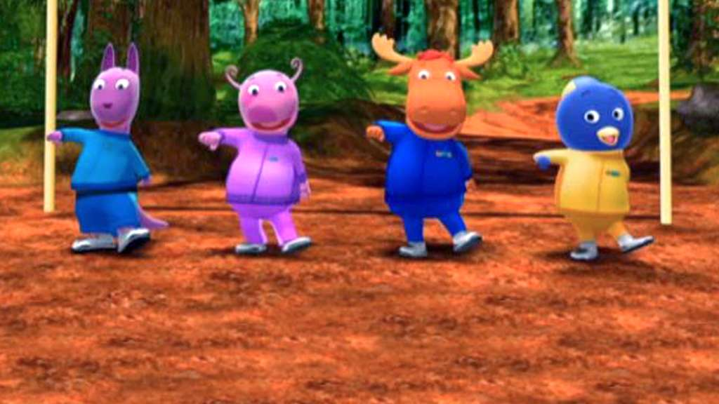 A Race Around The World Video Backyardigans S1 Ep117