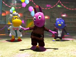 It S A Monster Dance Party The Backyardigans Video Clip