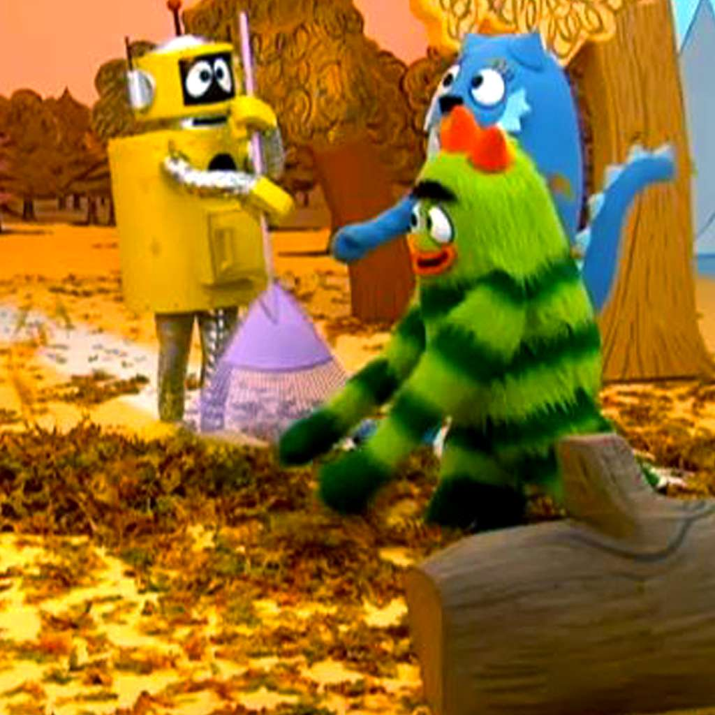 Yo Gabba Gabba: The Leaves Are Falling