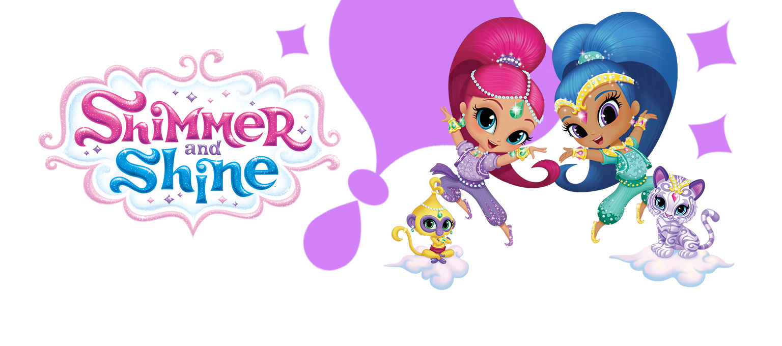 1000 images about Shimmer y Shine on Pinterest Coloring