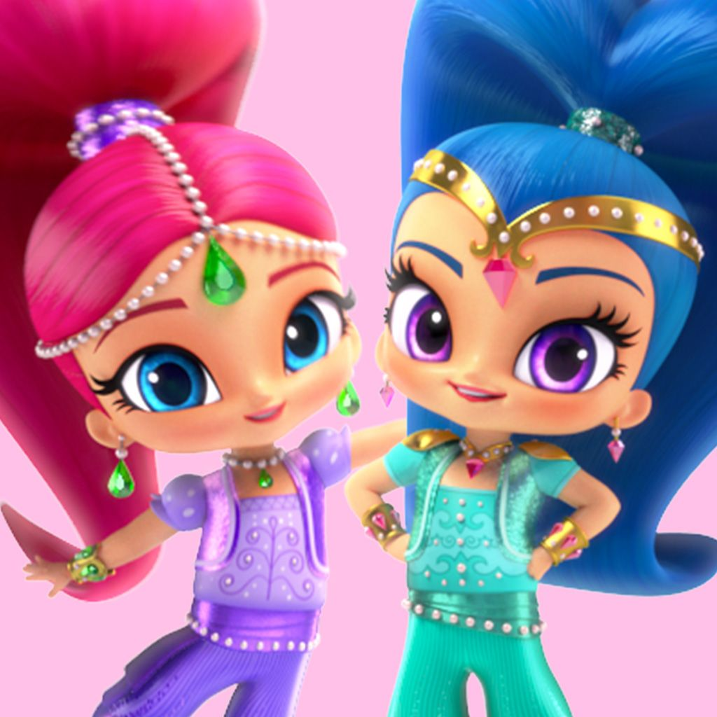 shimmer and shine episodes games videos on nick jr