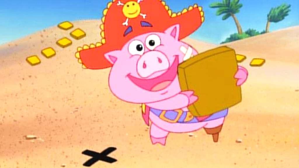 Treasure Island Dora The Explorer Kisscartoon
