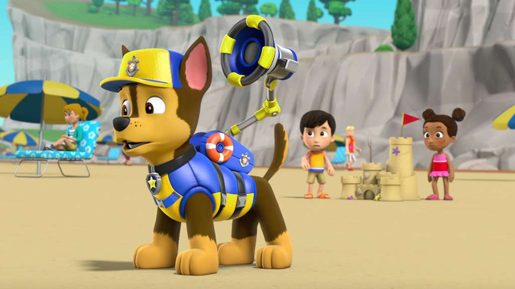 Paw Patrol S4 Ep416 Sea Pups Save A Shark The Pier Full Episodes
