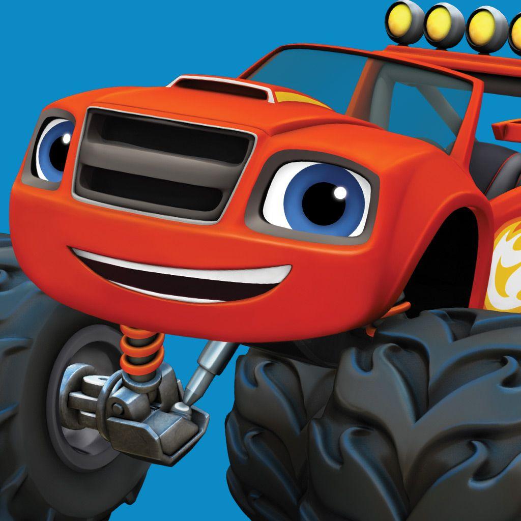 Monster truck cartoons full episodes for Blaze cartoni